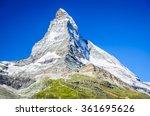 zermatt  switzerland. mountain...