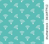 wifi icons pattern. background...