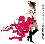 cabaret | Shutterstock .eps vector #361739516