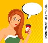 pop art vector illustration of...   Shutterstock .eps vector #361740206