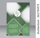 flyer template. brochure design....   Shutterstock .eps vector #361754975