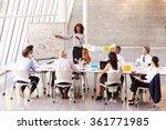 african american businesswoman... | Shutterstock . vector #361771985