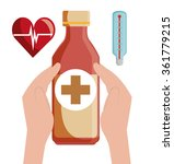 medical healthcare graphic  | Shutterstock .eps vector #361779215