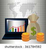 money and global economy | Shutterstock .eps vector #361784582