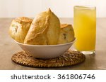 esfiha meat on the table with... | Shutterstock . vector #361806746