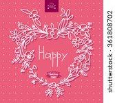 heart of colors | Shutterstock .eps vector #361808702
