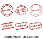 natural stamps | Shutterstock .eps vector #361820438