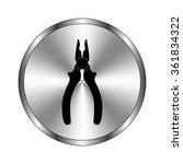 pliers   vector icon   metal...