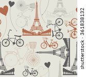 few symbols of france as... | Shutterstock .eps vector #361838132