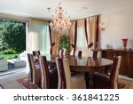 Comfortable Dining Room Of An...