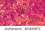 abstract background. red mosaic | Shutterstock . vector #361845872
