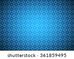 minimalistic blue poker... | Shutterstock .eps vector #361859495