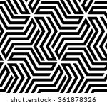 abstract geometric pattern by... | Shutterstock .eps vector #361878326