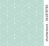 abstract geometric pattern with ... | Shutterstock .eps vector #361878782