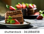 Chocolate Cake With Fresh...