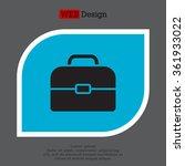 briefcase icon | Shutterstock .eps vector #361933022