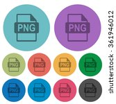 color png file format flat icon ...