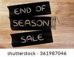 End Of Season Sale ...