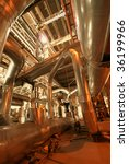 different size and shaped pipes ... | Shutterstock . vector #36199966