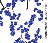 seamless floral pattern with...   Shutterstock .eps vector #362014448