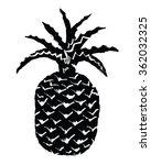 Pineapple   Vector Illustratio...
