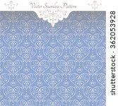 vector  vintage style  blue...   Shutterstock .eps vector #362053928