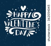 happy valentines day card....   Shutterstock .eps vector #362054045
