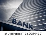 bank building | Shutterstock . vector #362054432
