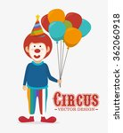 circus carnival entertainment  | Shutterstock .eps vector #362060918