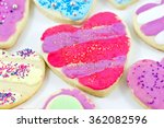 close up of a variety of... | Shutterstock . vector #362082596