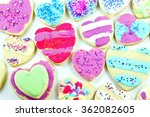 close up of a variety of... | Shutterstock . vector #362082605