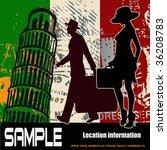 Italian Travel Flyer