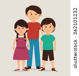 family unity design | Shutterstock .eps vector #362101232