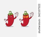 chili mascot   Shutterstock .eps vector #362107322