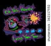 color vector image in cartoon... | Shutterstock .eps vector #362117552