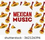 viva mexico design  | Shutterstock .eps vector #362126396