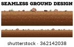 seamless ground surface design... | Shutterstock .eps vector #362142038