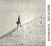 up the career ladder | Shutterstock . vector #362161886