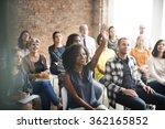 business team meeting seminar... | Shutterstock . vector #362165852