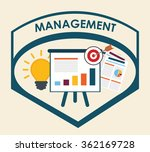 blog management design  | Shutterstock .eps vector #362169728