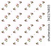 apple blossom pattern  hand... | Shutterstock . vector #362176835