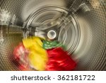 interior view of washer.... | Shutterstock . vector #362181722