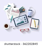 work concept   business concept ... | Shutterstock .eps vector #362202845