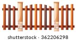 Seamless Wooden Fence Design...