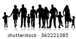 vector silhouettes of different ... | Shutterstock .eps vector #362221385
