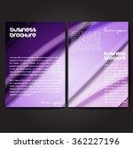 vector brochure template design ...