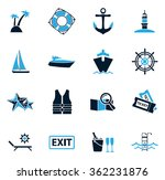 Cruise Symbol For Web Icons