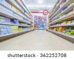 supermarket blur background  ... | Shutterstock . vector #362252708