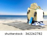 bag of summer time  | Shutterstock . vector #362262782
