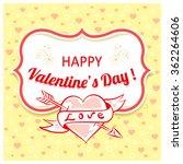 vector background with... | Shutterstock .eps vector #362264606